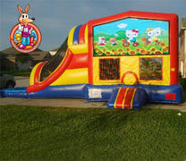 Hello Kitty Module 5 in 1 Waterslide Bouncehouse Combo